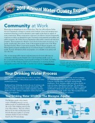 Water Quality Report 2011 - City of Boca Raton