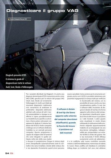 Articolo sulla rivista Semantica - DiagTech