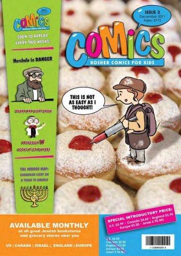 Comics Issue 3 - Jewish E-Books