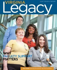 Paying It Forward: Why Faculty Support Matters - School of Nursing ...