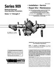 RP-IS-909S new - Backflow Supply