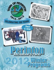 Recreation & Parks - Perinton Town Government
