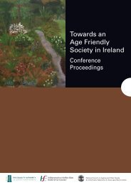 Towards an Age Friendly Society in Ireland - National Council on ...