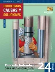 problemas. causales y soluciones - Instituto Mexicano del Cemento ...