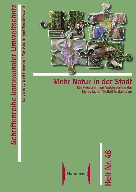 Mehr Natur in der Stadt - Biodiversität - schützen.nutzen.leben