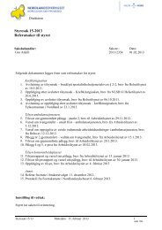 Styresak 15-2013 Referatsaker til styret - Nordlandssykehuset