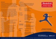 Information, Beratung, Qualifizierung, Vernetzung - RAA Bielefeld