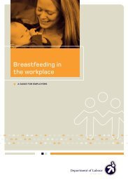 Breastfeeding in the workplace - Equal Employment Opportunities ...