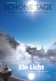 Posthotel - Winterpostille 2014/15