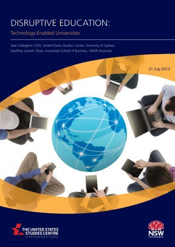 Disruptive Education: Technology-Enabled Universities