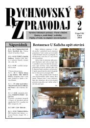 Nápovědník Restaurace U Kalicha opět otevírá