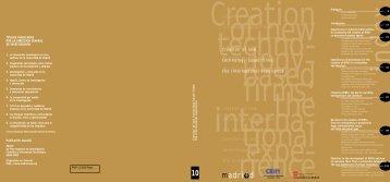 publication in PDF format 425 KB. Spanish - Madri+d
