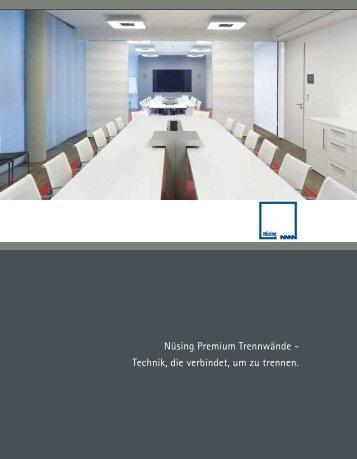 Technik Broschüre - Nüsing