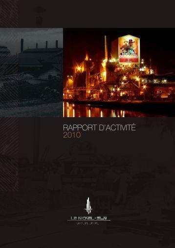 lire le rapport d'activité 2010 - sln
