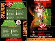 2000.04.08: СПАРТАК vs Локомотив (Москва, Россия) // Fanat1k.ru