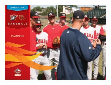 BASEBALL - Coaching Association of Canada