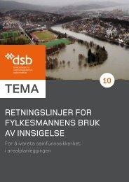 Retningslinjer for fylkesmannens bruk av innsigelse (pdf)