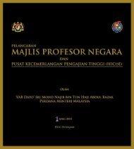Buku Risalah - Jabatan Pengajian Tinggi - Kementerian Pengajian ...