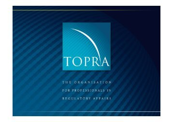 reference medicinal product - TOPRA