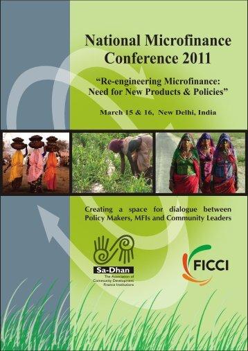 National Microfinance Conference 2011 - Sa-Dhan