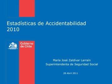 Presentación Tasas Accidentabilidad 2010 - Sigweb