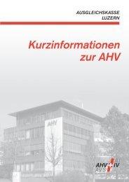 Kurzinformationen 2010 - Ausgleichskasse Luzern
