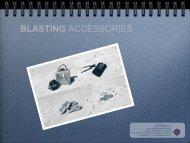 Blasting Accessories Tech Specs - SOTEMU sa