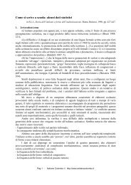 Come si scrive a scuola: alcuni dati statistici - Adrianocolombo.it