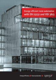 Energy Efficient Room Automation with EN15232 ... - Slaney Direct Ltd