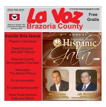 La Voz de Brazoria County February 2013.pmd - La Voz Newspapers
