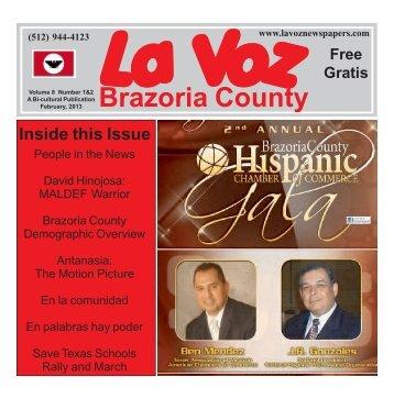 La Voz de Brazoria County February 2013.pmd - La Voz Newspapers