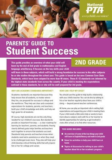 2nd Grade - Ohio PTA Common Core
