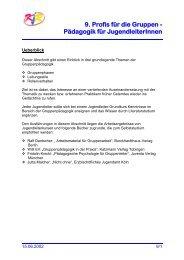 09 Profis fuer die Gruppen - Paedagogik fuer JugendleiterInnen.pdf