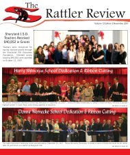 The Rattler Review - Sharyland ISD