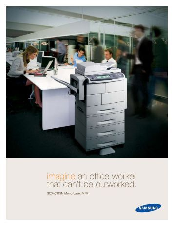 imagine an office worker that can't be outworked.