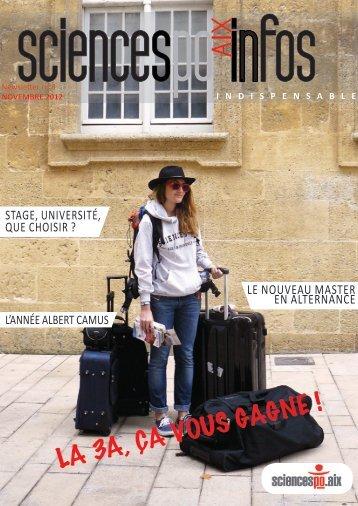 LA 3A, ÇA VOUS GAGNE ! - Sciences Po Aix