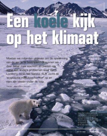 Moeten we miljarden uitgeven om de opwarming van de aarde te ...