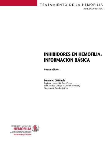 Inhibidores en hemofilia: información básica - World Federation of ...