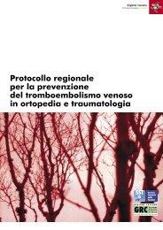 Tromboembolismo in ortopedia-Reg. Toscana - Terapia compressiva