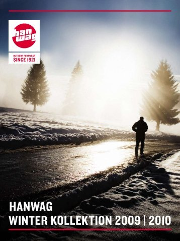 HANWAG WINTER kollEkTIoN 2009 | 2010