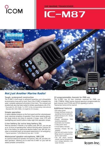 VHF MARINE TRANSCEIVER - Tehnoturg