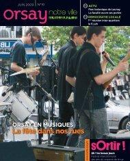Orsay, notre ville - n°10 juin