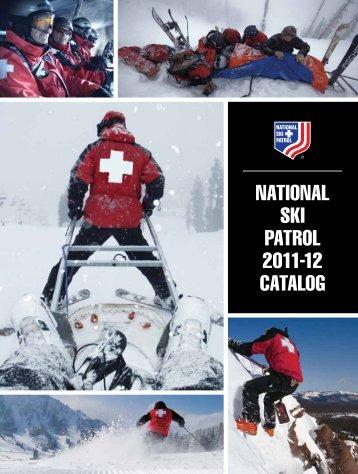 NATIONAL SKI PATROL 2011-12 CATALOg