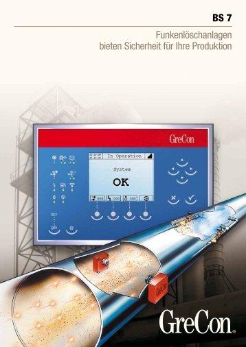 Funkenlöschanlagen bieten Sicherheit für Ihre Produktion - GreCon
