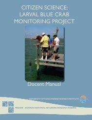 Citizen SCienCe - Mission - Aransas National Estuarine Research ...