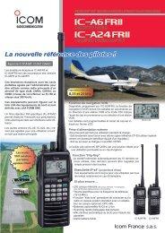 iC-a6frii iC-a24frii - Icom France