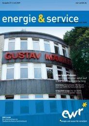 Energieeffizienz: Spedition Mäuler setzt auf EWR ... - EWR GmbH