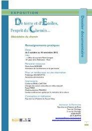 du 2 octobre au 18 novembre - Académie de Clermont-Ferrand