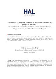 Assessment of salivary amylase as a stress biomarker in pregnant ...