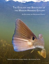 the ecology and sociology of the mission-aransas estuary